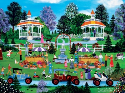 Jane Wooster Scott: Posies in the Park - 1500pc Jigsaw Puzzle by Ceaco