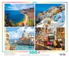 Around the World: 4 in 1 Multi-Pack - 500pc Jigsaw Puzzle by Ceaco