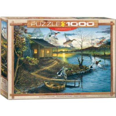 Autumn Retreat by Abraham Hunter - 1000pc Jigsaw Puzzle by Eurographics