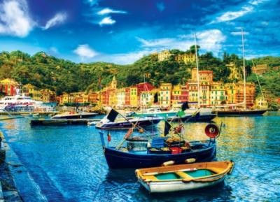 Portofino Italy - 1000pc Jigsaw Puzzle by Eurographics