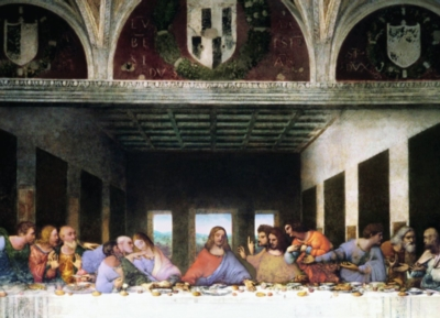 The Last Supper by Leonard Da Vinc - 1000pc Jigsaw Puzzle by Eurographics