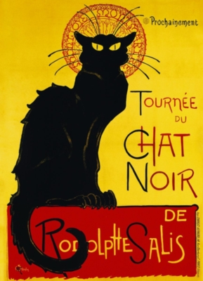 Chat Noir by Steinlen - 1000pc Jigsaw Puzzle by Eurographics