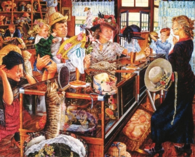 The Millinery Shop - 1000pc Jigsaw Puzzle By Holdson