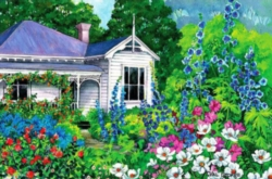 Grandma's Garden - 500pc Jigsaw Puzzle by Holdson