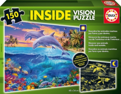 Underwater World Inside Vision - 150pc Jigsaw Puzzle by Educa
