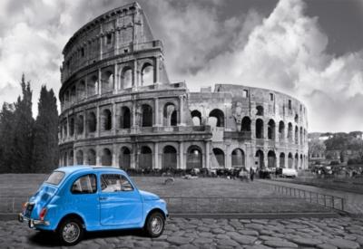 Coliseum, Rome - 1000pc Miniature Jigsaw Puzzle by Educa