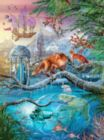 Shangri La Winter Holographic - 1000pc Jigsaw Puzzle by Lafayette Puzzle Factory