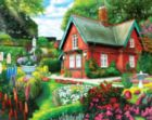 Summer Cottage - 500pc Jigsaw Puzzle by Lafayette Puzzle Factory
