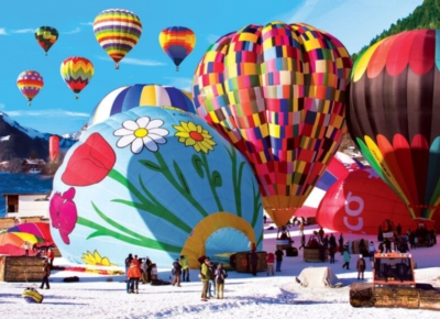 International Ballooning Festival, Switzerland - 1500pc Jigsaw Puzzle by Lafayette Puzzle Factory