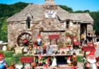 Old World Pixie Shop in Tintagel Cornwall, Ireland - 1500pc Jigsaw Puzzle by Lafayette Puzzle Factory