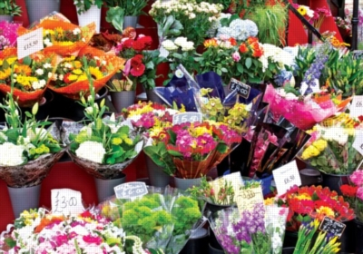 Colorful Market Flowers - 1500pc Jigsaw Puzzle by Lafayette Puzzle Factory