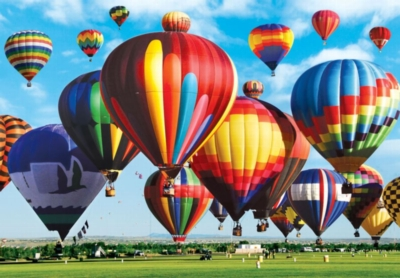 Albuquerque International Balloon Fiesta - 1500pc Jigsaw Puzzle by Lafayette Puzzle Factory