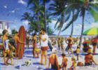 Lido Beach - 1000pc Jigsaw Puzzle by Lafayette Puzzle Factory