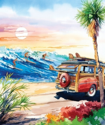 Endless Summer - 1000pc Jigsaw Puzzle by Lafayette Puzzle Factory