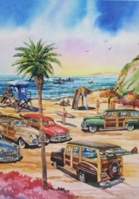 Encinitas - 1000pc Jigsaw Puzzle by Lafayette Puzzle Factory