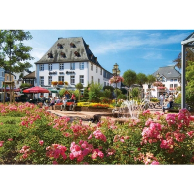 Market Square, Bad Neuenahr-Ahrweiler, Germany - 1000pc Jigsaw Puzzle by Lafayette Puzzle Factory