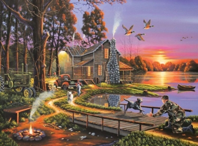 An Early Surprise - Wild Country - 1000pc Jigsaw Puzzle by Lafayette Puzzle Factory