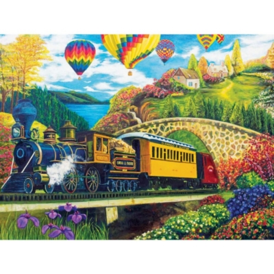County Express - 1000pc Jigsaw Puzzle by Lafayette Puzzle Factory