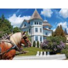 The Wedding Cake Cottage, Mackinac Island, MI - 1000pc Jigsaw Puzzle by Lafayette Puzzle Factory