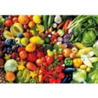 Fresh Fruits and Vegetables - 1000pc Jigsaw Puzzle by Lafayette Puzzle Factory