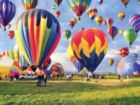 Balloon Take-off - 500pc Jigsaw Puzzle by Lafayette Puzzle Factory