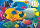 Fish School - 500pc Jigsaw Puzzle by Lafayette Puzzle Factory