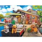 Gone Fishin - 500pc Jigsaw Puzzle by Lafayette Puzzle Factory