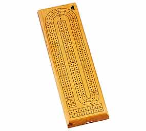 2 Track Cribbage Board - Card Game