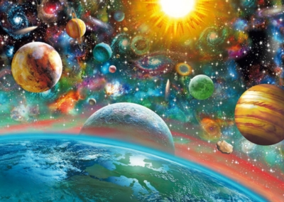 Outer Space - 1000pc Jigsaw Puzzle by Schmidt