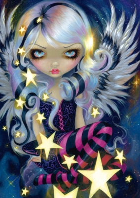 Angel in a Sea of Stars - 500pc Jigsaw Puzzle by Schmidt