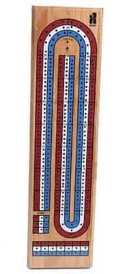 3 Track Color Cribbage Board - Card Game