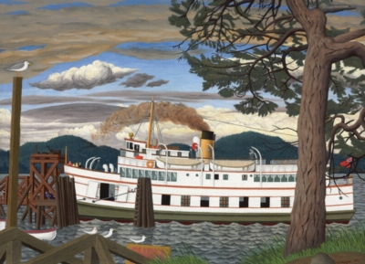 The Car Ferry at Sidney BC - 1000pc Jigsaw Puzzle by Cobble Hill