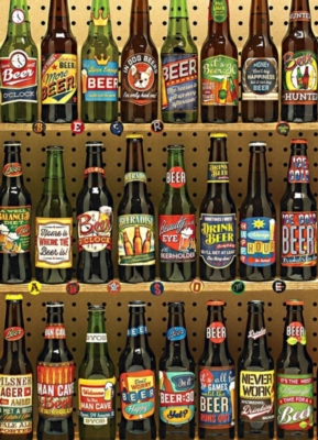 Beer Collection - 1000pc Jigsaw Puzzle by Cobble Hill