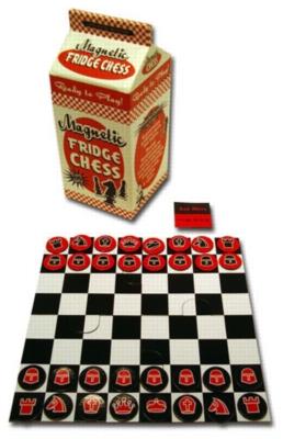 Magnetic Fridge Chess - Chess Set