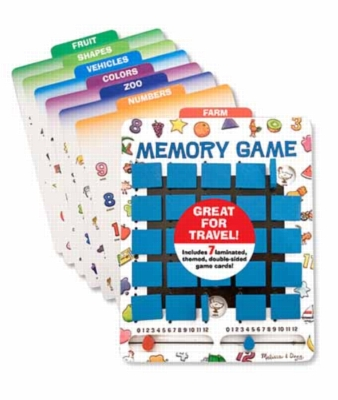 Memory Game - Flip to Win Travel Game