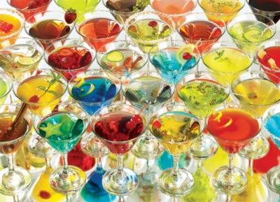 Martinis! - 1000pc Jigsaw Puzzle by Cobble Hill