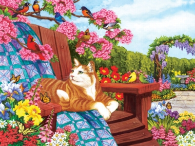 Spring Fling - 275pc Jigsaw Puzzle by Cobble Hill