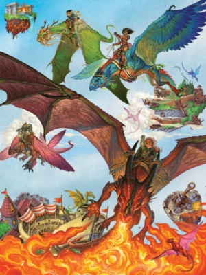 Dragon Flight - 400pc Family Puzzle by Cobble Hill