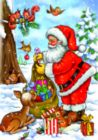 Santa with his Animals - 24pc Jigsaw Puzzle by D-Toys