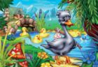 Ugly Duckling - 60pc Jigsaw Puzzle by D-Toys