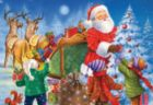 Santa Delivers Presents - 35pc Jigsaw Puzzle by D-Toys