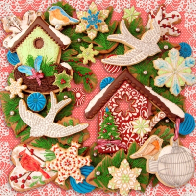 Christmas Creations - 500pc Jigsaw Puzzle By Springbok