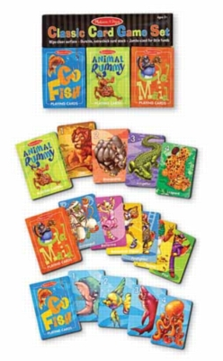 Classic Card Game Set - Kids Games by Melissa & Doug