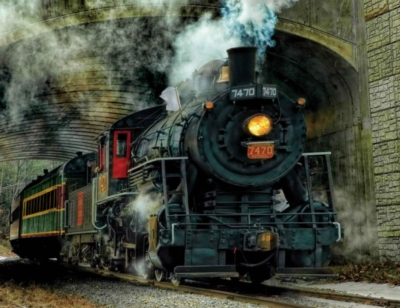Green Mountain Express - 100pc Jigsaw Puzzle By Springbok