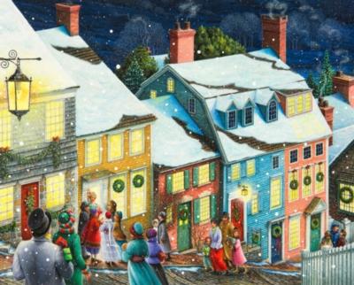 Christmas Carolers - 1000pc Jigsaw Puzzle By Springbok