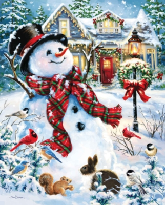 Old Fashioned Holiday - 1000pc Jigsaw Puzzle By Springbok