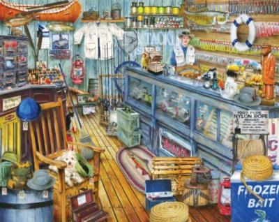 The Bait Shop - 1000pc Jigsaw Puzzle By Springbok