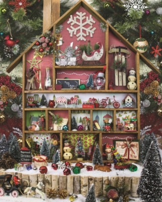 Christmas Country Home - 1000pc Jigsaw Puzzle By Springbok