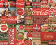 Coca-Cola - It's the Real Thing 1,000 piece puzzle from Springbok