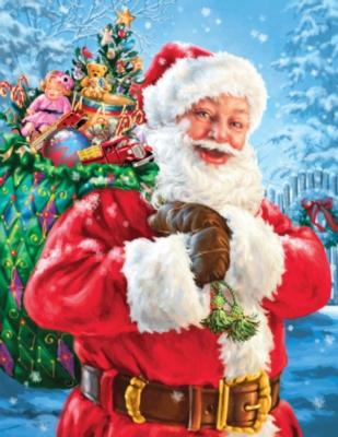 Santa's Magic Bag - 400pc Jigsaw Puzzle By Springbok